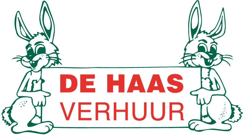 logo De Haas Verhuur kleur